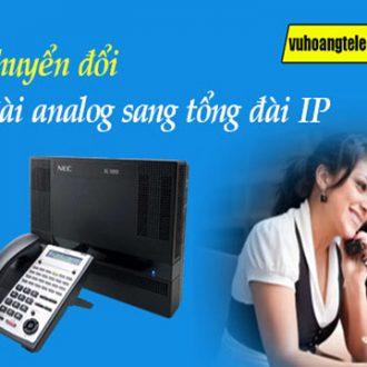 chuyển đổi tổng đài analog sang IP