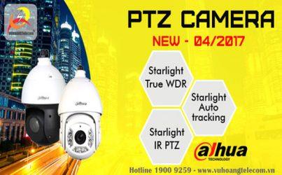Tính năng thông minh camera speed dome Dahua mới