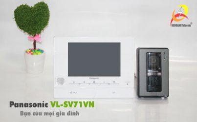 Vì sao chuông cửa màn hình Panasonic VL-SV71VN đắt hàng