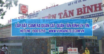 Lắp đặt camera quận Tân Bình giá rẻ