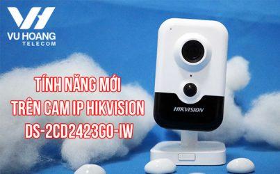 Camera IP Wifi Hikvision DS-2CD2423G0-IW nhỏ nhưng có võ