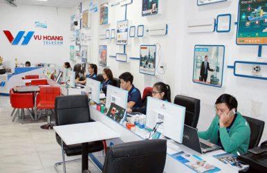 Trụ sở công ty Vuhoangtelecom tại quận Bình Thạnh