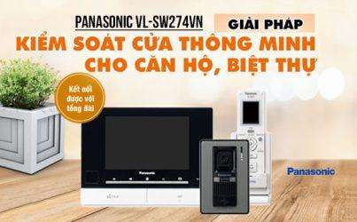Ưu điểm Panasonic VL-SW274VN - Chuông hình thông minh nhất