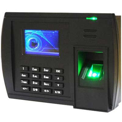 Máy chấm công vân tay tích hợp wifi RONALD JACK 5000T-C - Vu Hoang