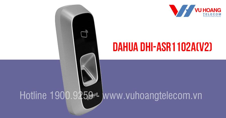 Đầu đọc thẻ từ, vân tay DAHUA DHI-ASR1102A(V2)