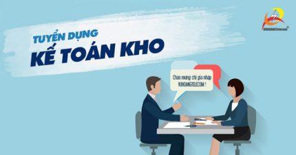 TUyển dụng kế toán kho Vuhoangtelecom