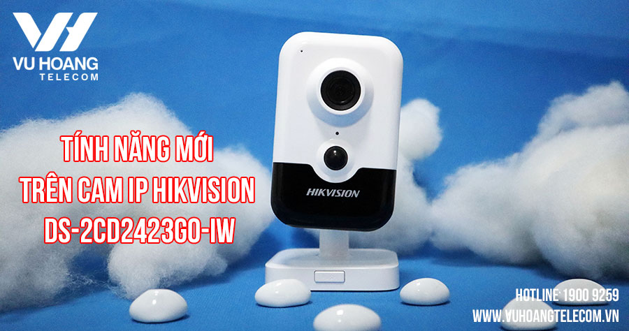 Camera IP Wifi Hikvision DS-2CD2423G0-IW