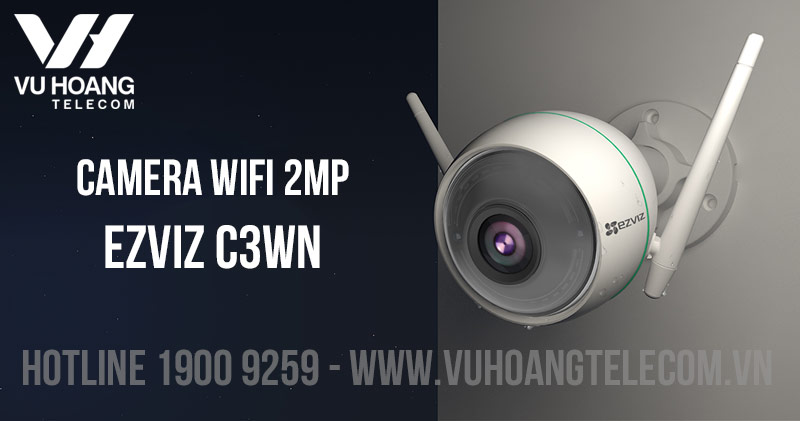 Camera Wifi 2MP EZVIZ C3WN