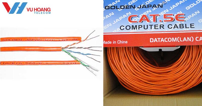Dây cáp mạng GOLDEN JAPAN chất lượng