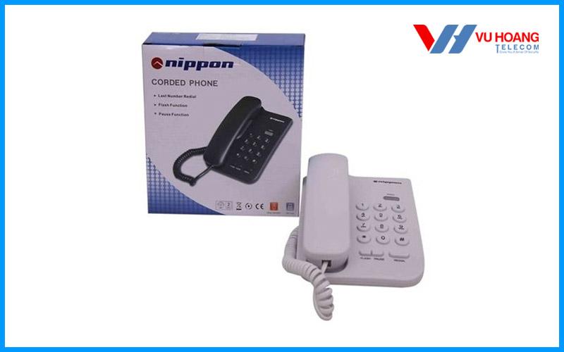 Bán điện thoại bàn NIPPON NP-1201 không màn hình giá rẻ