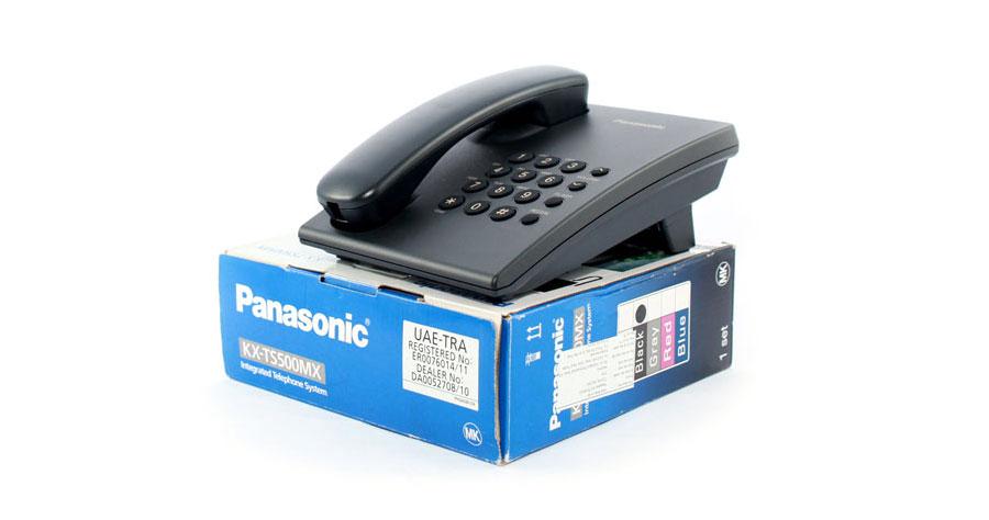 Điện thoại có dây Panasonic KX-TS500 âm thanh to, rõ ràng