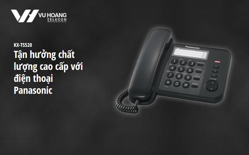 Điện thoại cố định PANASONIC KX-TS520MX