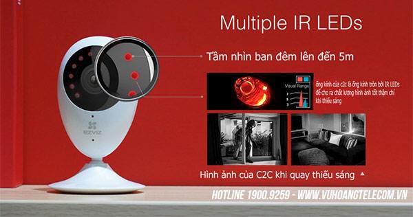 Bán camera IP không dây Ezviz C2C1080P chính hãng