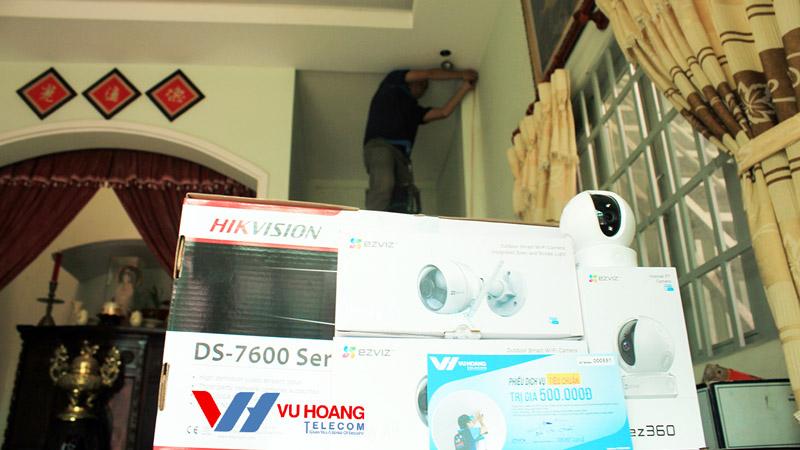 Khách hàng lựa chọn camera IP EZVIZ chất lượng, ổn định cao
