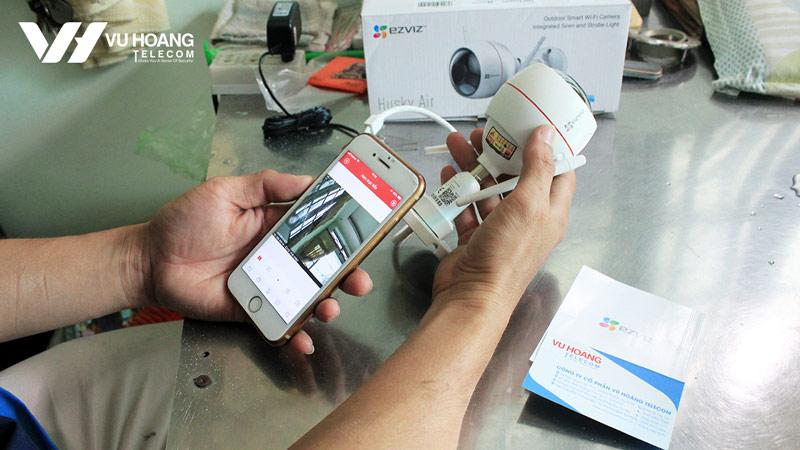 Kỹ thuật test ứng dụng camera ezviz trên điện thoại