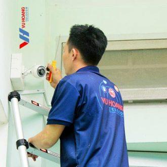Thi công lắp đặt camera Wifi EZVIZ cho gia đình tại quận Gò Vấp