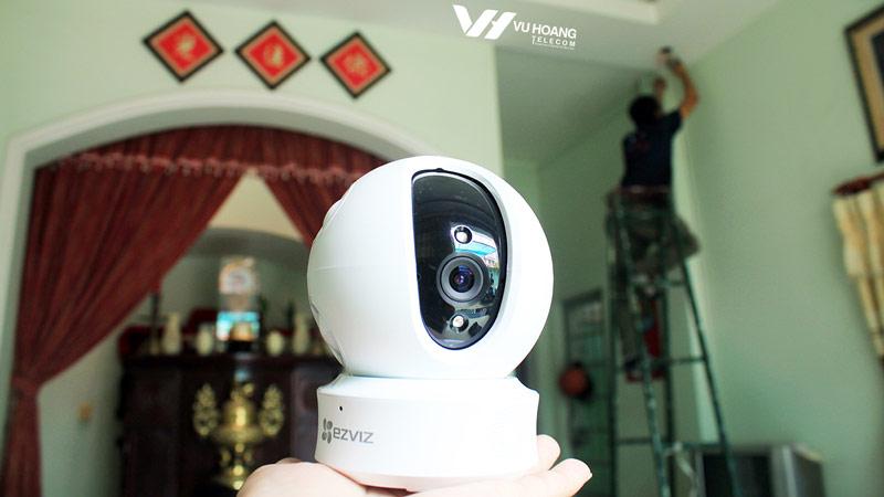 lắp đặt camera quan sát EZVIZ