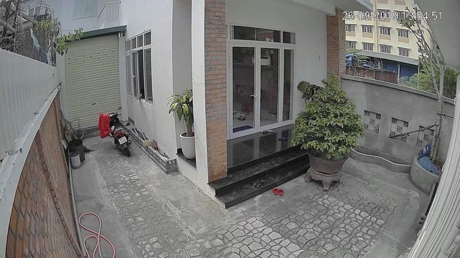 Lắp đặt camera Looc C26HP giám sát ngoài trời