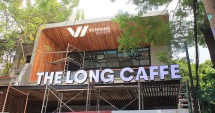 Vuhoangtelecom thi công lắp đặt camera quán Cafe The Long.