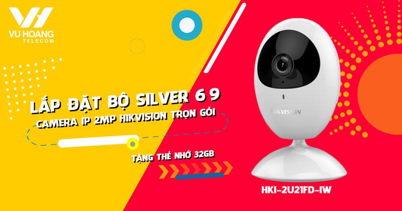 Lắp đặt camera Wifi 2MP HIKVISION HKI-2U21FD-IW cho gia đình (Gói Silver 69)