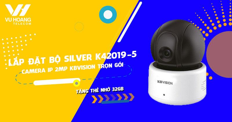 Lắp đặt camera IP 2MP KBVISION KBI-H20PWN (SILVER K42019-5)