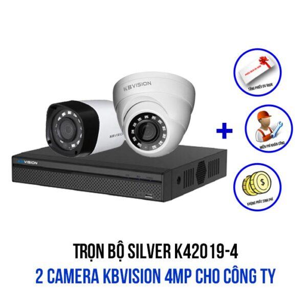 Trọn bộ camera KBVISION 4MP