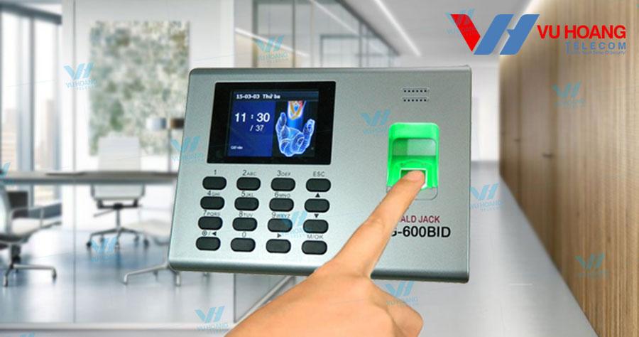 Máy chấm công vân tay, thẻ cảm ứng RONALD JACK DG-600BID