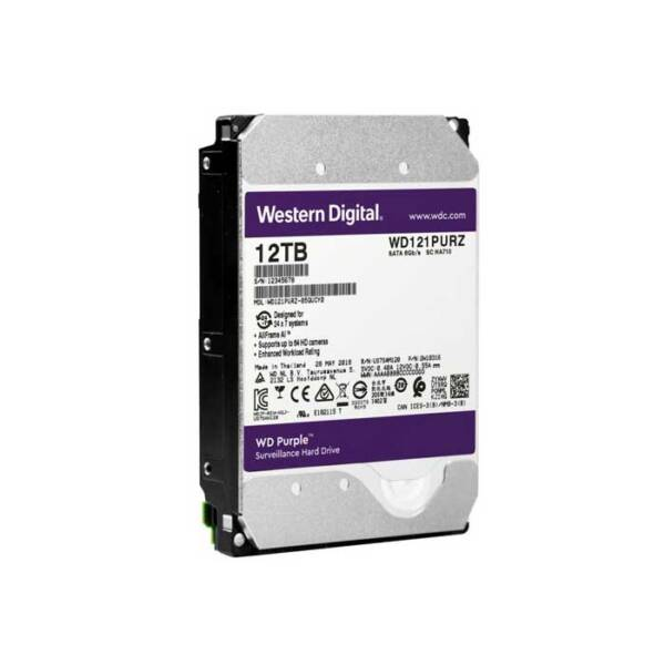 Ổ cứng WD Purple 12TB WD121PURZ