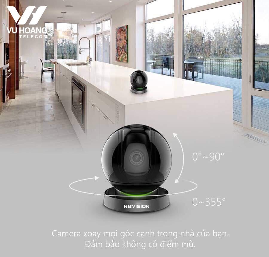 Camera IP Wifi KBONE đa năng
