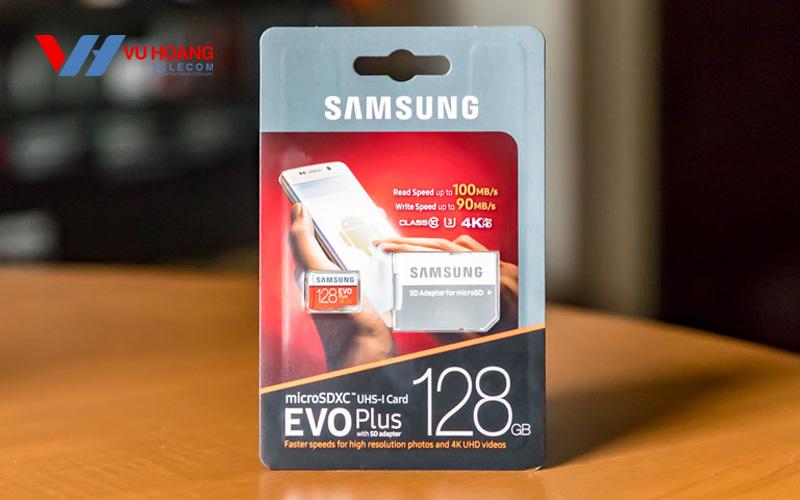 Thẻ nhớ Micro SD Samsung Evo Plus 128GB