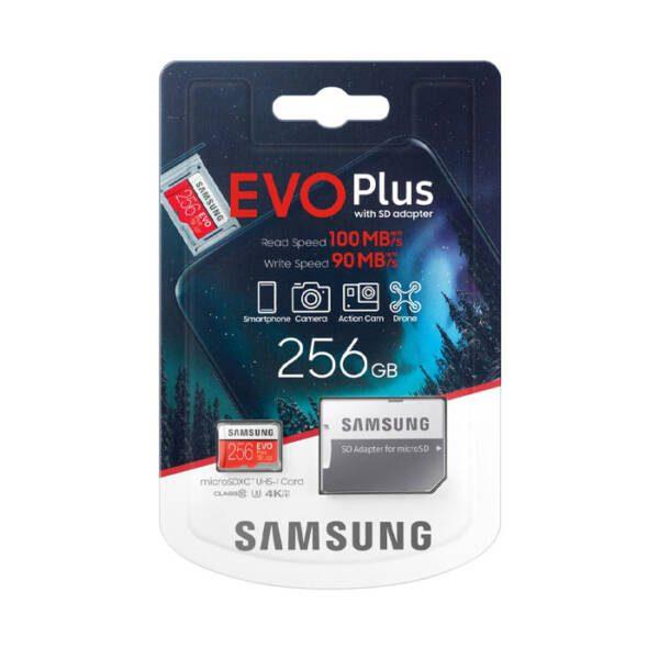 Samsung Evo Plus 256GB U3 Class 10-100MB/s