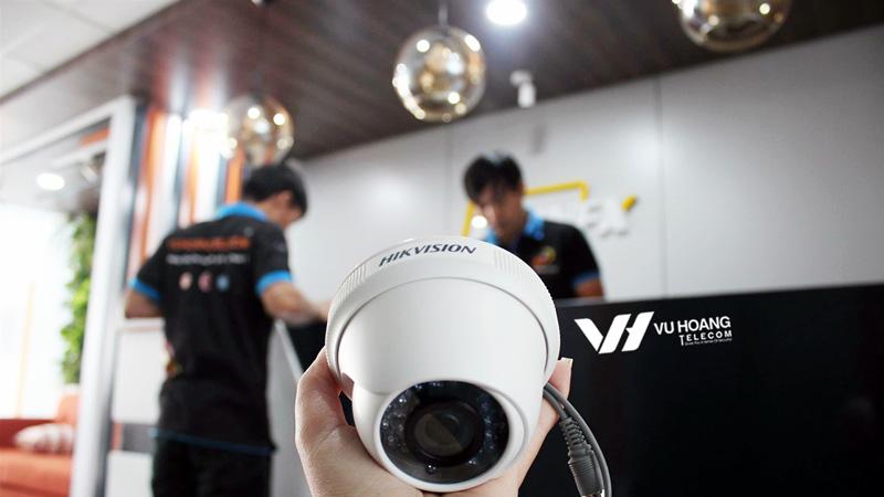 Lắp đặt camera cho công ty IWINFX chuyên nghiệp