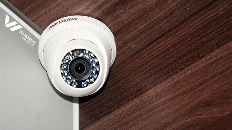 Lắp đặt camera cho công ty IWINFX hoàn thiện