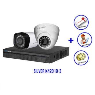 Bộ camera KBVISION SILVER K42019-3