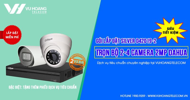 Trọn bộ camera DAHUA HD1080P cho công ty