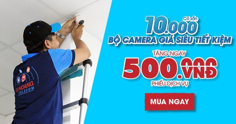 Trọn bộ camera Hikvision giá tốt cho Công ty - Nhà xưởng
