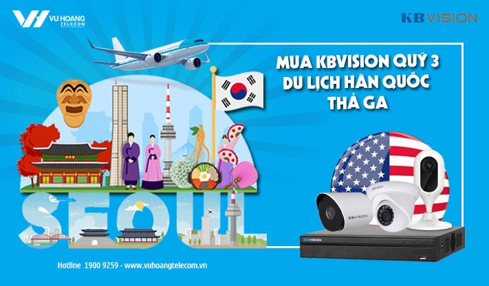 Khuyến mãi KBVISION tặng tour Hàn Quốc