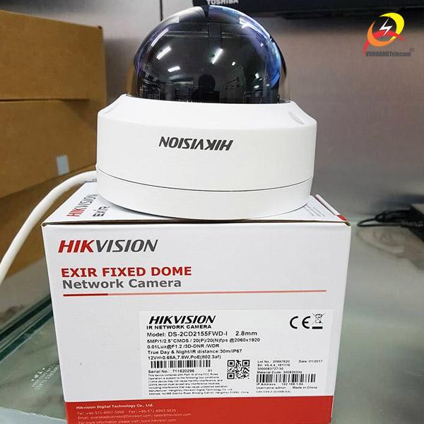 camera IP Hikvision DS-2CD2155FWD-I -3