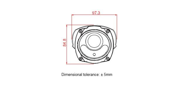Thông số kích thước camera DGM1306P 1