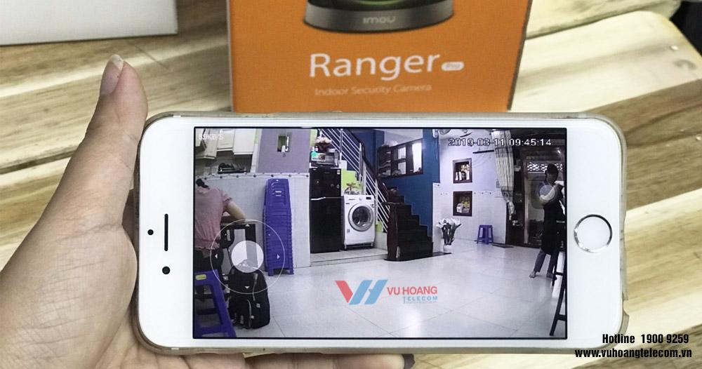 Hình ảnh camera xem qua điện thoại