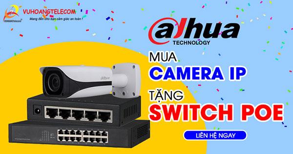 Switch PoE Dahua (Hi PoE) cho khoảng cách kết nối cực lớn
