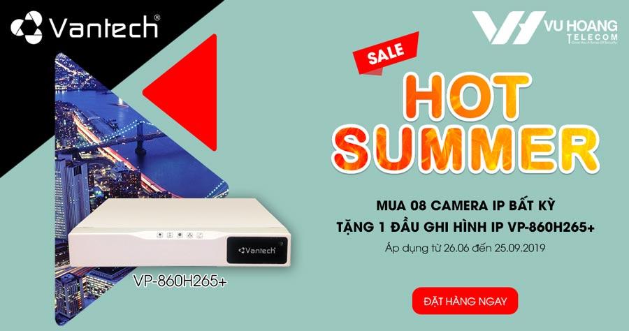 Khuyến mãi Vantech Hot Summer Sale