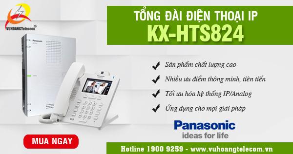 tổng đài IP KX-HTS824