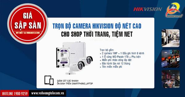 lắp đặt camera cho tiệm net giá tốt tại Vuhoangtelecom