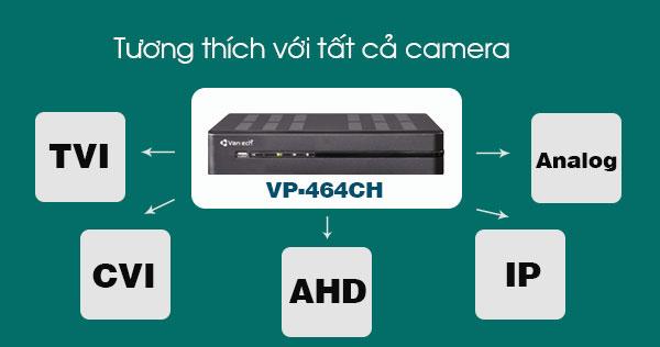 đầu ghi hình All In One Vantech VP-464CH - 2