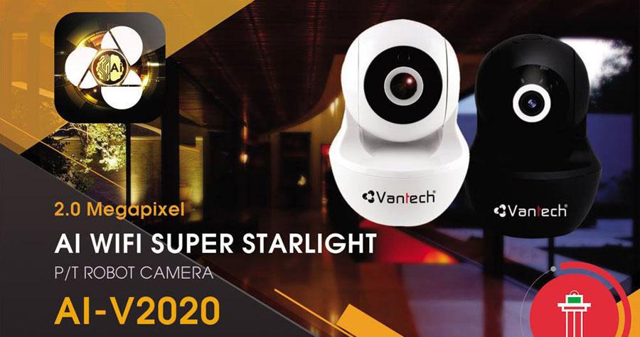 Camera AI Wifi 2MP VANTECH AI-V2020