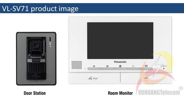 chuông cửa màn hình Panasonic VL-SV71VN - 2