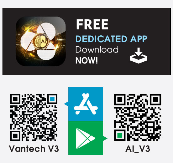 Ứng dụng có tên AI_V3 trên CH Play hoặc App Store