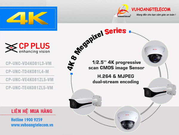 camera IP CP Plus 8MP