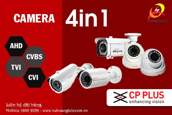 Camera 4in1 CP Plus